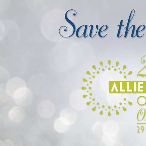 Save the Date Banner Design